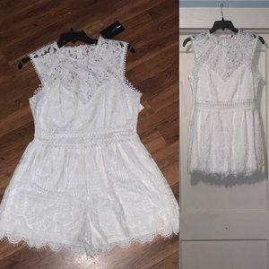 Fashion nova lace romper
